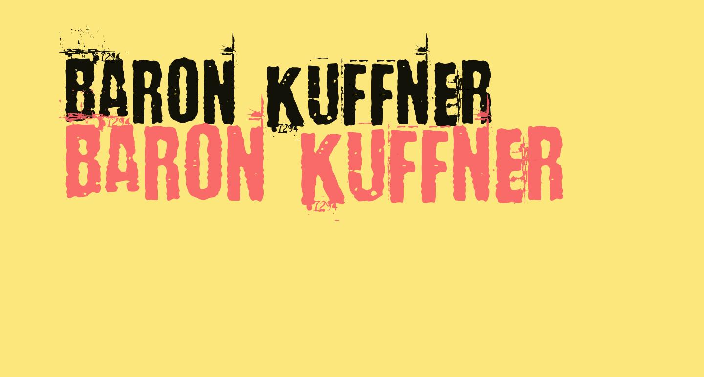 Baron Kuffner