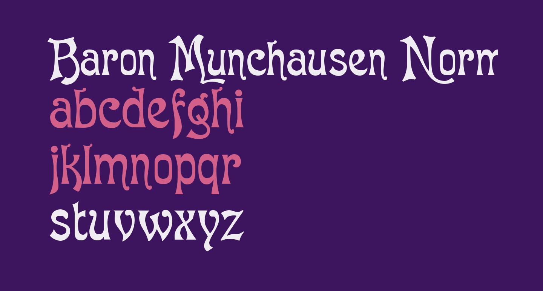 Baron Munchausen Normal