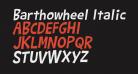 Barthowheel Italic