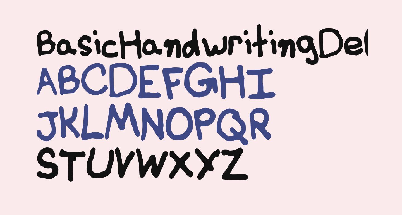 BasicHandwritingDefault