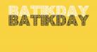 BatikDayakFont