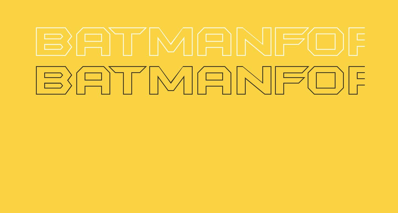 BatmanForeverOutline