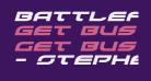 Battlefield Expanded Italic