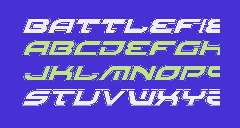 Battlefield Pro Italic