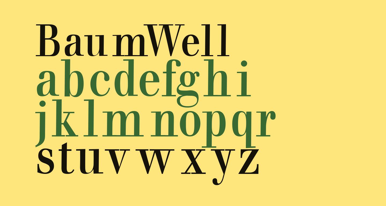 BaumWell