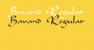 Bavand Regular