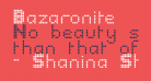Bazaronite