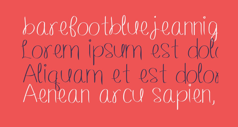 barefootbluejeannight