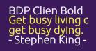 BDP Clien Bold
