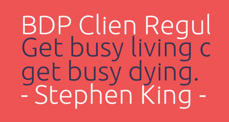BDP Clien Regular