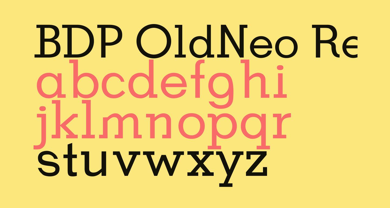 BDP OldNeo Regular
