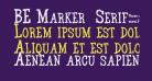 BE Marker  Serif_SW