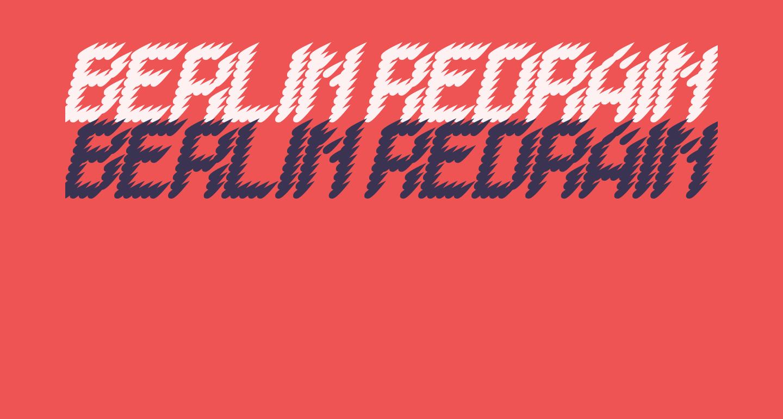 BERLIN REDRAIN Italic