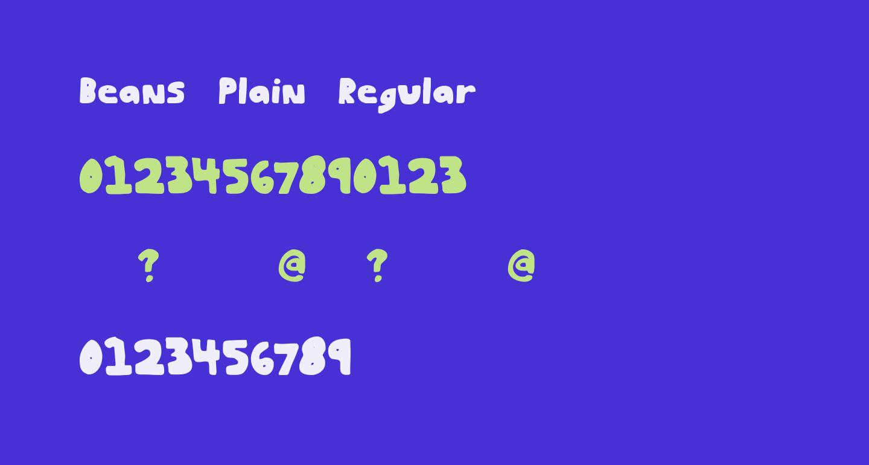 Beans Plain Regular