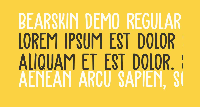Bearskin DEMO Regular