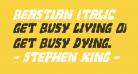 Beastian Italic