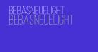 BebasNeueLight