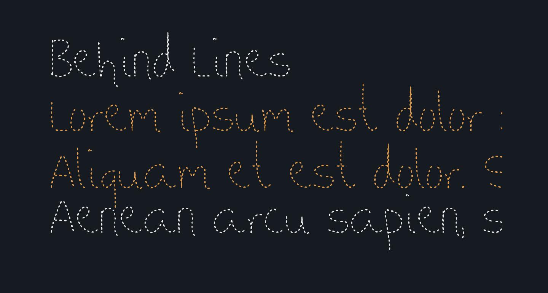 Behind Lines