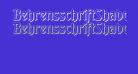 BehrensschriftShadow