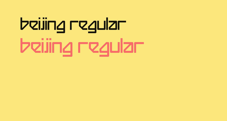 Beijing Regular