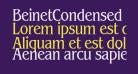 BeinetCondensed Normal