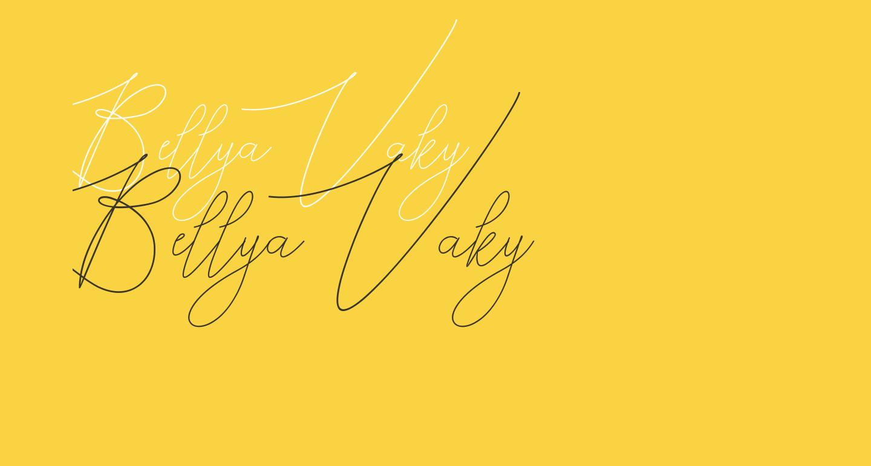 Bellya Vaky