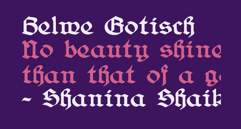 Belwe Gotisch