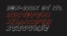 Ben-Zion 3D Italic