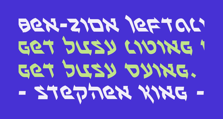 Ben-Zion Leftalic