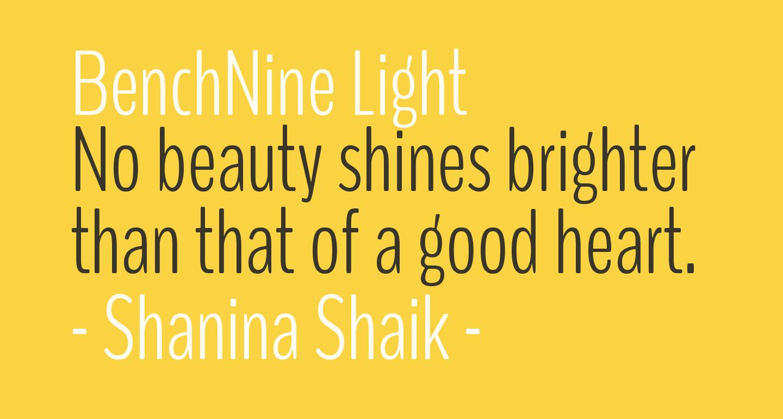 BenchNine Light