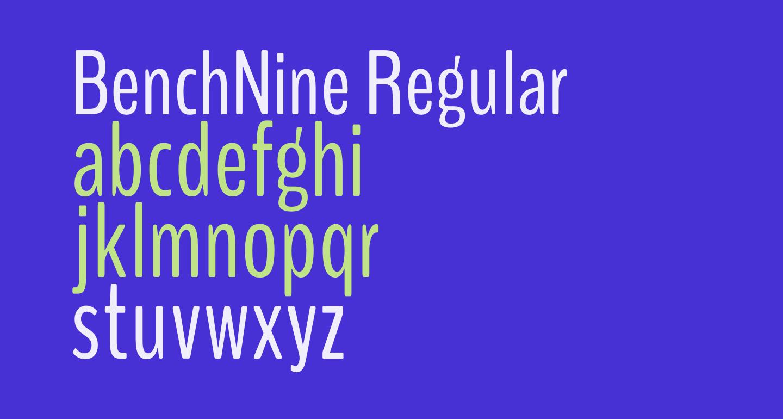 BenchNine Regular