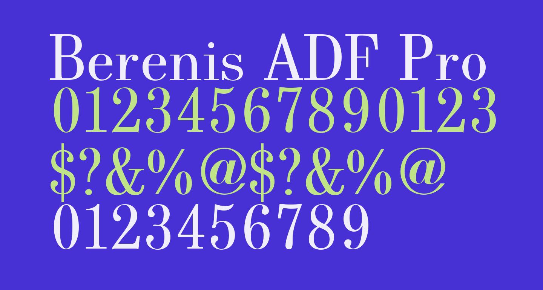 Berenis ADF Pro Regular