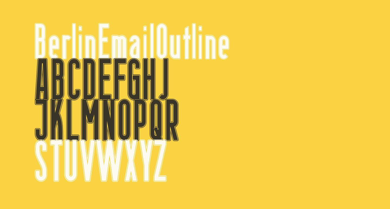 BerlinEmailOutline