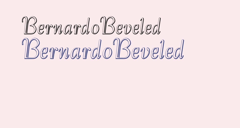 BernardoBeveled