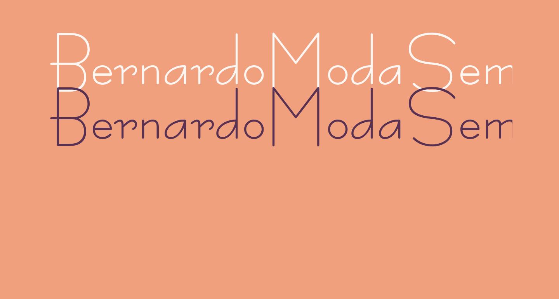 BernardoModaSemibold