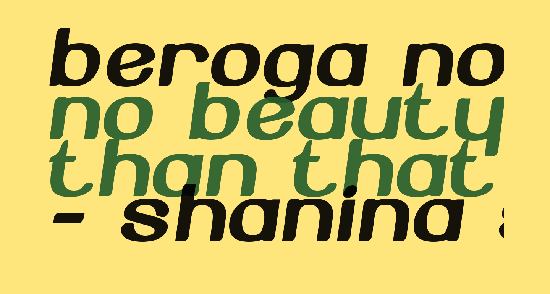 Beroga Normal
