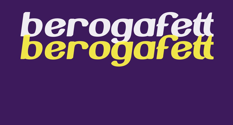 BerogaFettig-Bold