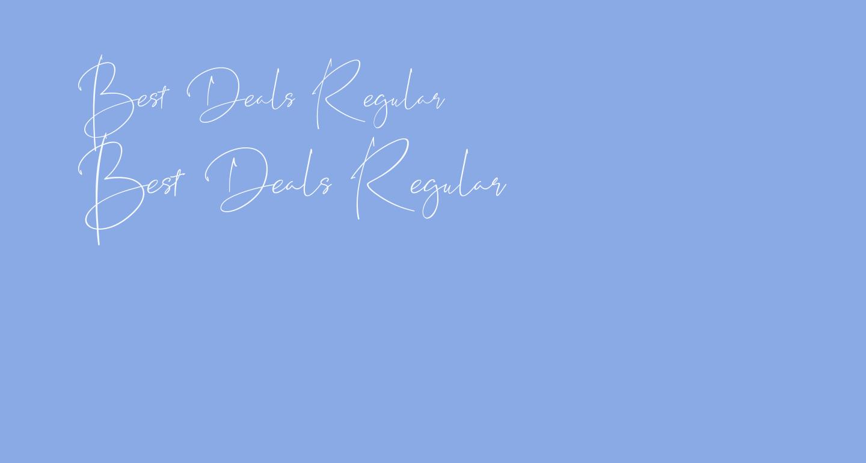 Best Deals Regular
