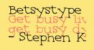 Betsystype