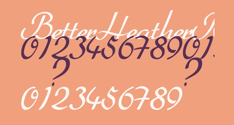 BetterHeatherRegular