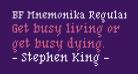BF Mnemonika Regular Regular