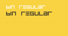 BIN Regular