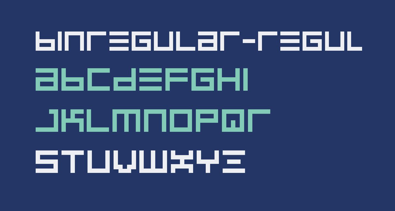BINRegular-Regular