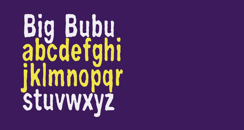 Big Bubu