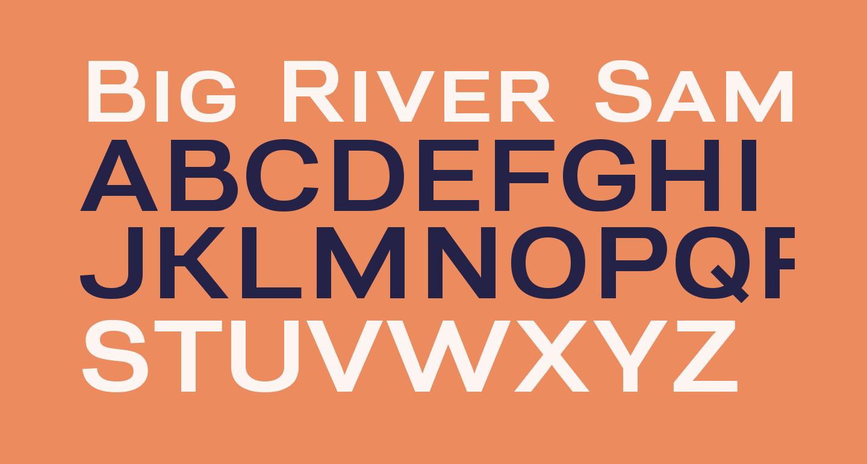 Big River Sample