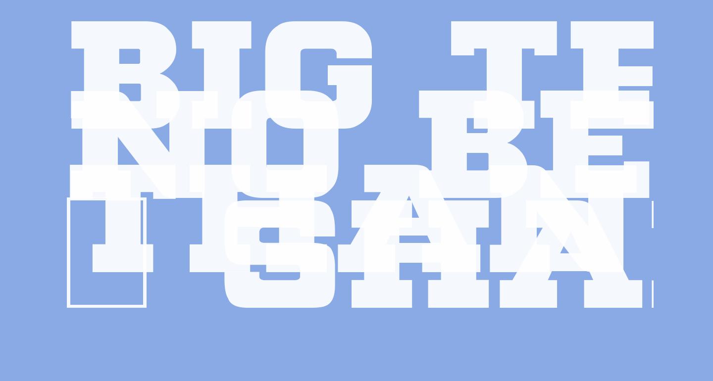 Big Ten Block
