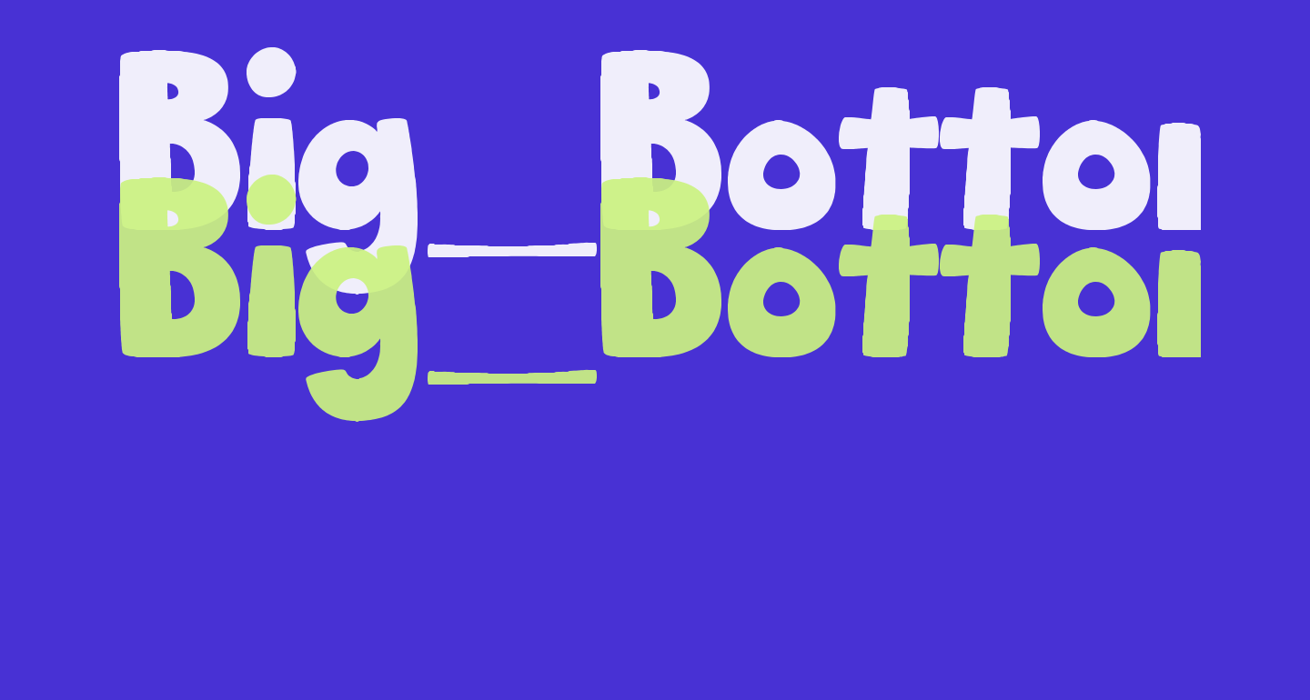 Big_Bottom_Typeface_Normal