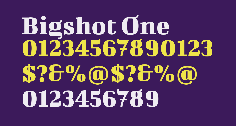 Bigshot One