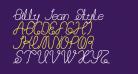Billy Jean Style