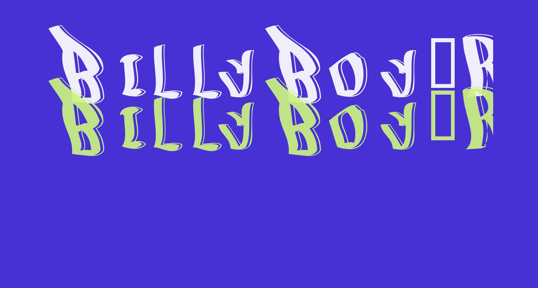 BillyBoy-Regular